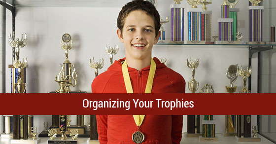 Best Way to Organize Trophies
