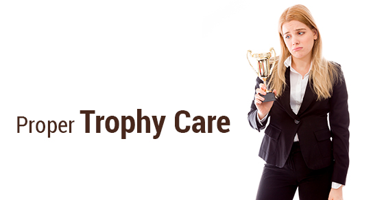Trophy Care Tips