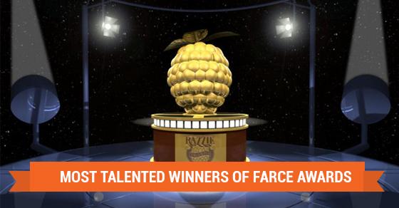 Raspberry Award Winners